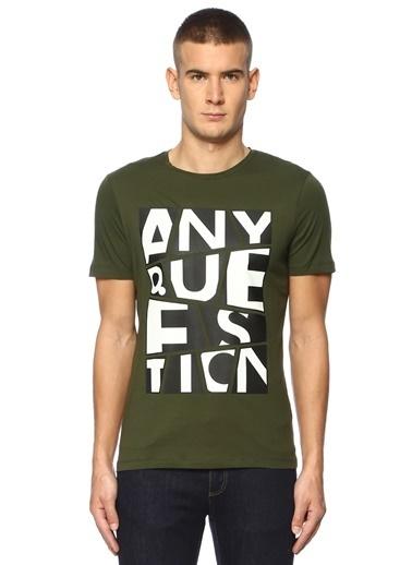 Que Tişört Haki